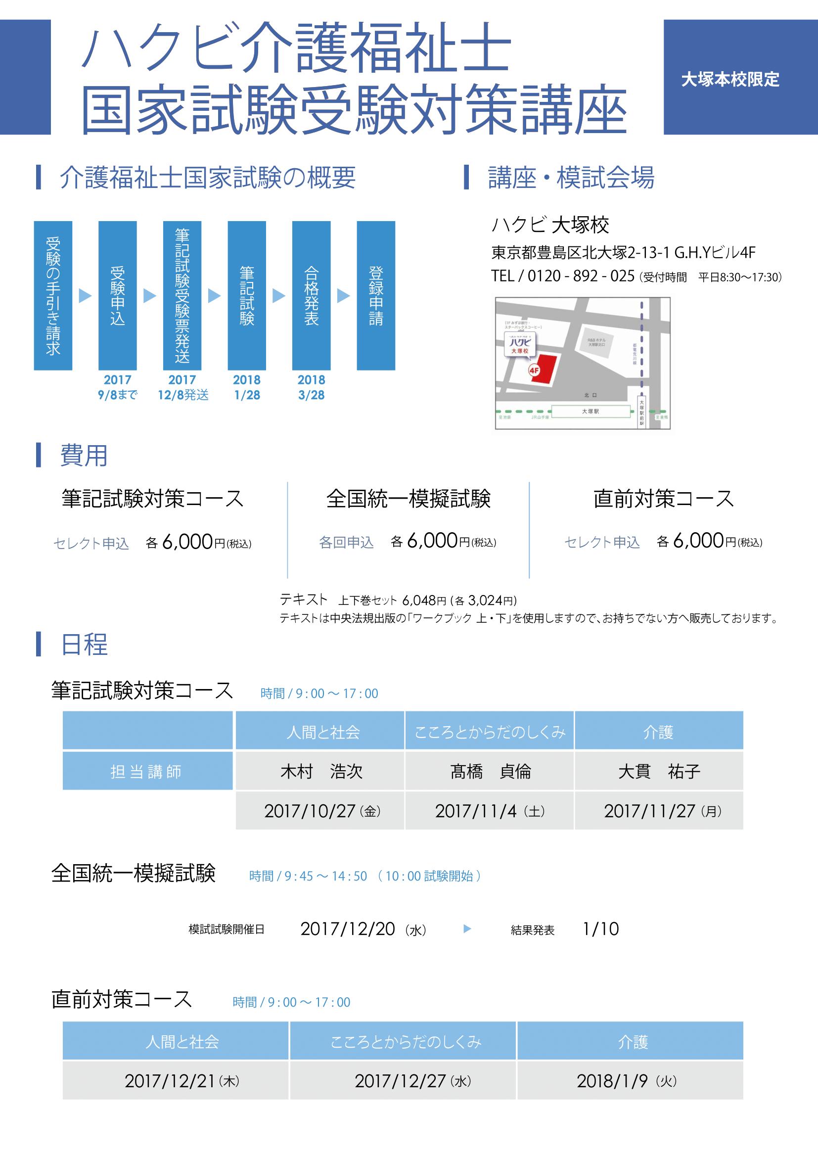 介福試験対策 表
